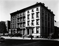 fifth avenue houses, #4, 6, 8 by berenice abbott