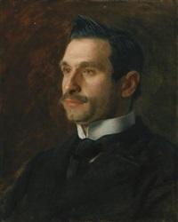 portrait of francesco romano by thomas eakins