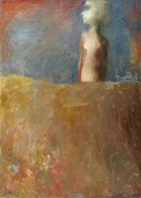 figura dietro il muro by raffaele lippi