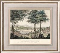 utsyn ved heningslyst (after c. a. lorentzen) by johan jacob georg haas