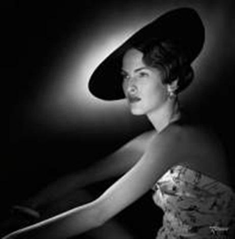 la dame au chapeau by pierre anthony allard