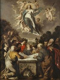 l'assomption de la vierge by cornelis schut the elder