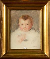 portrait de bébé by walter vaes