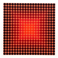 pokol, bf (permutations et algorithmes) by victor vasarely