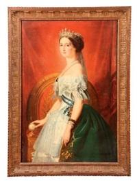 portrait de l'impératrice eugénie by franz xaver winterhalter