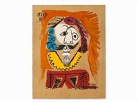 portrait imaginaires by pablo picasso