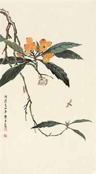 枇杷草虫 by huang junbi