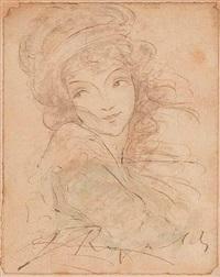 retrato de dama by joshua reynolds