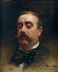 portrait de monsieur saucède by léon joseph florentin bonnat