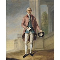 portrait of a gentleman (sir james wright?) by samuel de wilde
