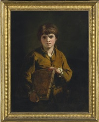 boy with a portfolio: the school boy by joshua reynolds