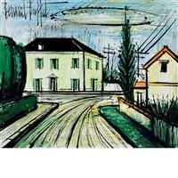 la maison jaune by bernard buffet