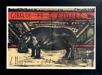 l'hippopotame en liberté by bernard buffet