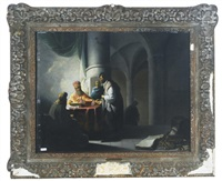 king herod receiving judas by willem de poorter