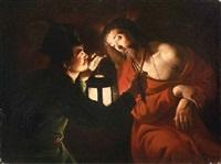 cristo deriso by trophîme (theophisme) bigot the elder