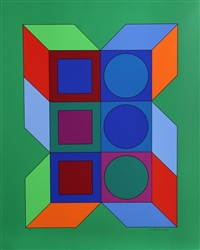 vy-29-b from album xico by victor vasarely