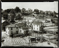 residential area, morgantown, west virginia by walker evans