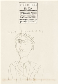 self-portrait by rem koolhaas