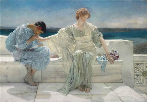 ask me no more by sir lawrence alma tadema
