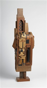 untitled (standing figure) by noah purifoy