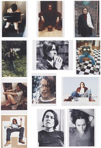self portraits 1990-1998 (complete portfolio of 12 works) by sarah lucas