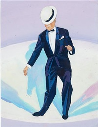 maurice chevalier dansant en smoking by james rassiat