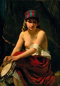 l'orientale au tambourin by anthony reynier