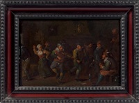 le concert dans l'auberge by egbert van heemskerck the younger
