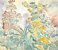 branchages de fleurs by louis valtat