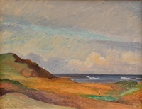 late afternoon, long reef (16th hole) by treania smith