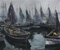 puerto pesquero by oscar antonio vaz