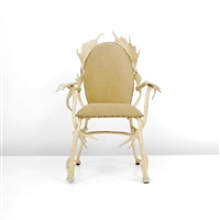 antler arm chair by arthur court