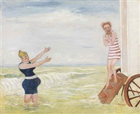 l'appel de la sirène (la baignade) by james ensor