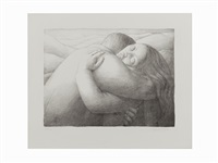 lovers by george tooker