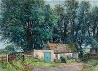 the farmyard, south balluderon by james mcintosh patrick