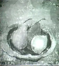 still life with pears by mary alice frack