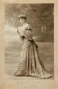 charlotte lysès (1877-1956) by paul nadar