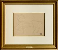 composition au cheval by andré derain