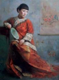 fair maiden by liu yuqi