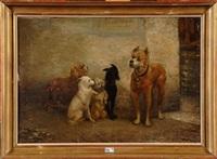 jeu de chiens by auguste corkole