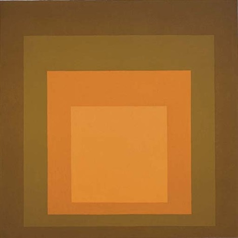homage to the square autumn climax by josef albers