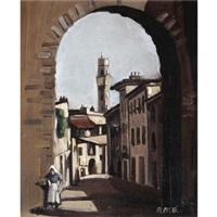 an italian street by robert macbryde