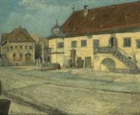 das rathaus in frickenhausen by curt agthe