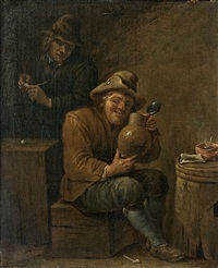 la tabagie by david teniers the younger