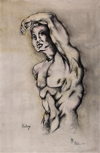 the poise by ronald brooks kitaj