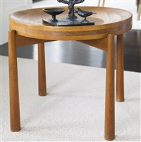 side tables (pair) by jens quistgaard