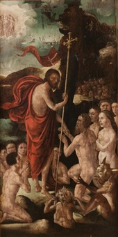 le christ aux limbes (recto-verso) by flemish school (16)