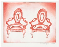 twosome by louise bourgeois