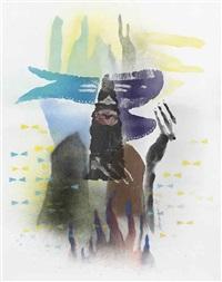 untitled (body print) by david hammons