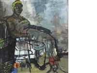 grandma by ben enwonwu